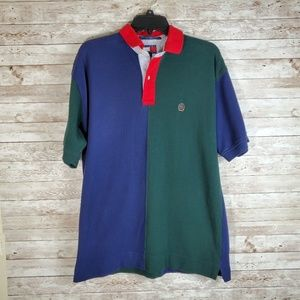 VTG Tommy Hilfiger Dual Color Collared  Polo Shirt